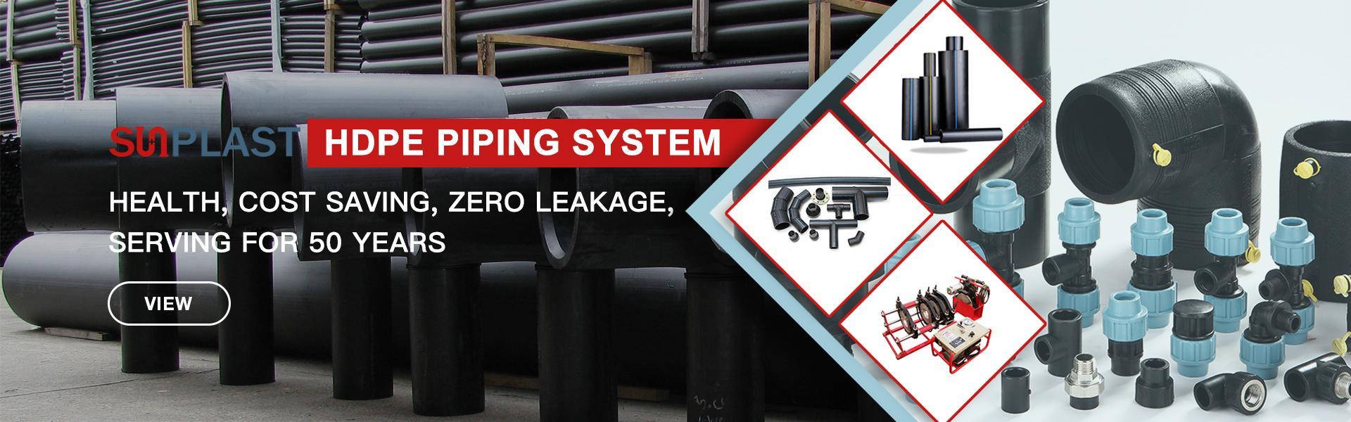 HDPE-Wasserleitung