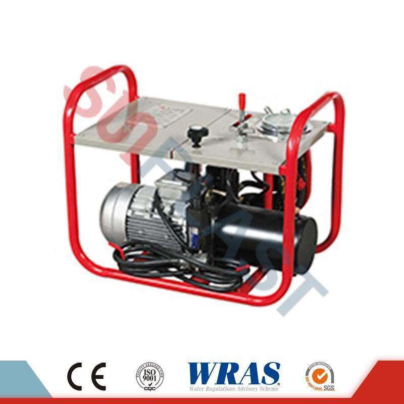 63-200mm manuelles / hydraulisches Stoßfusionsschweißgerät für HDPE-Rohr