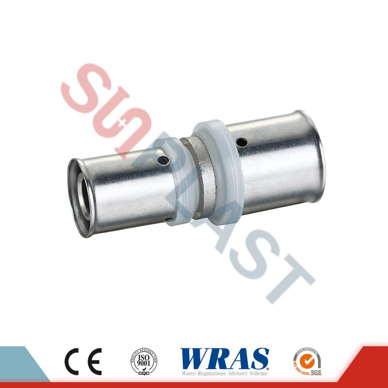 PEX-AL-PEX Pipe Press Reducing Coupler