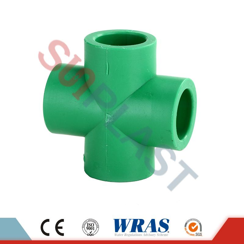 DIN8077 PPR-Kreuzfittings
