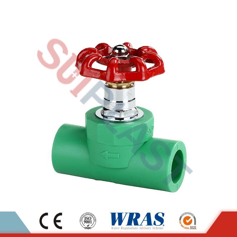 PPR-Absperrventil für Wasserinstallationen