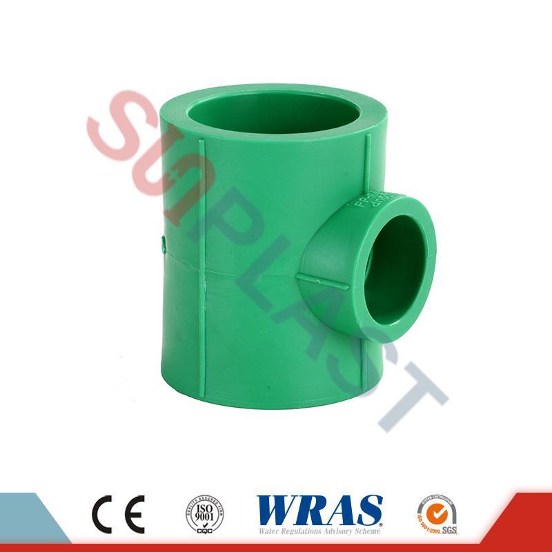 Grünes PPR, das T-Stück verringert