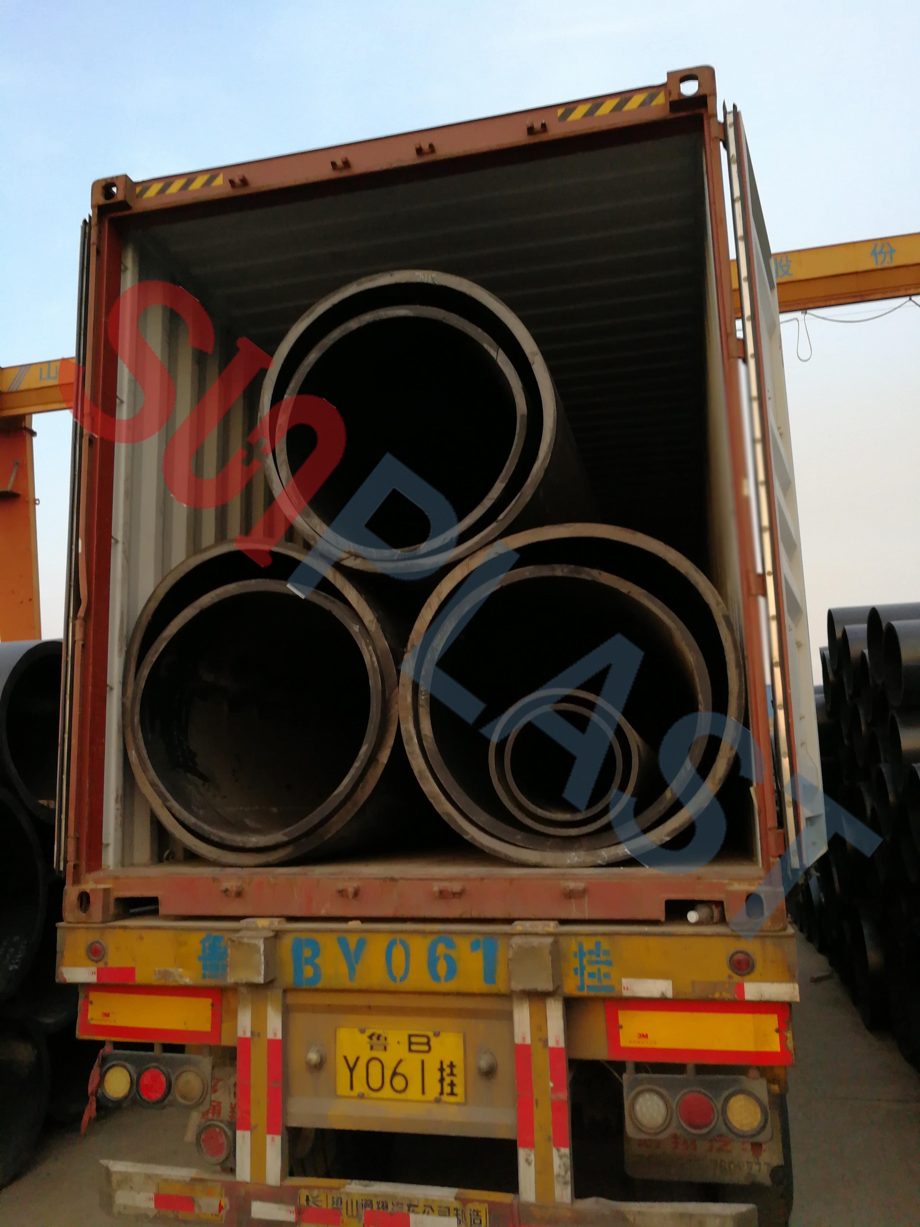 SUNPLAST DN1000 / DN1200mm HDPE-Rohr Nach Australien